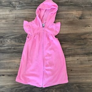 Toddler Girl's Old Navy Terry Swim Coverup